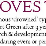Doves Imprint font