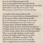 'Oenone', Tennyson 1902