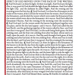 Bible Imprint setting