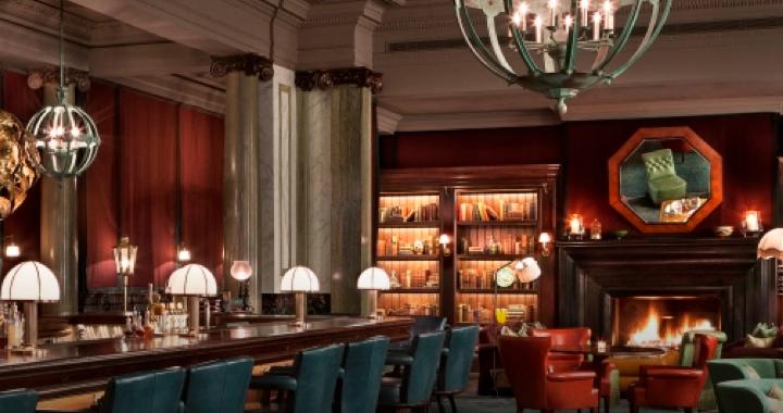 Scarfes Bar interior