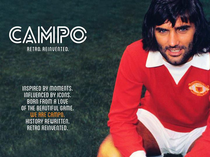 Campo Retro typography