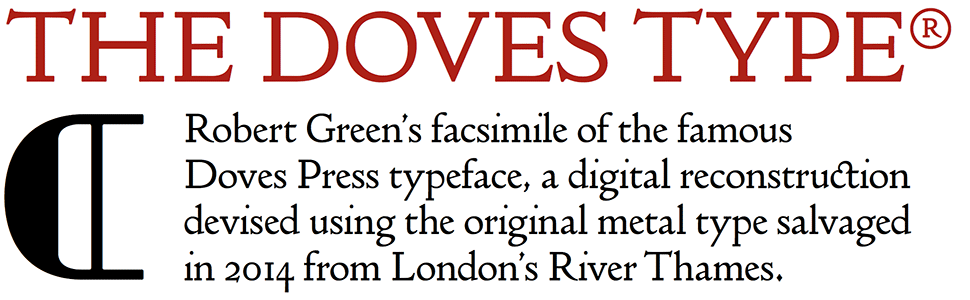 The Doves Type®