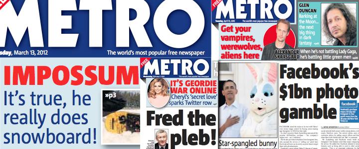 Typespec advises Metro Newspaper