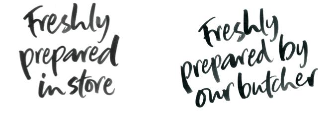 Morrisons Freshly Prepared Fonts