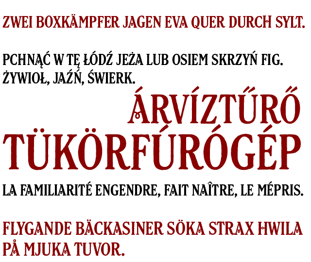 Bespoke latin accents in Unilever custom font