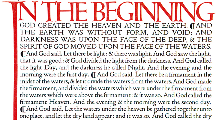 Original Doves Press Bible setting
