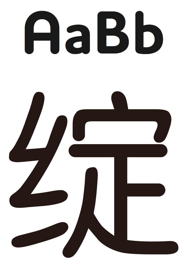 Chinese font options