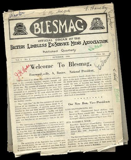 Blesma 1944 magazine