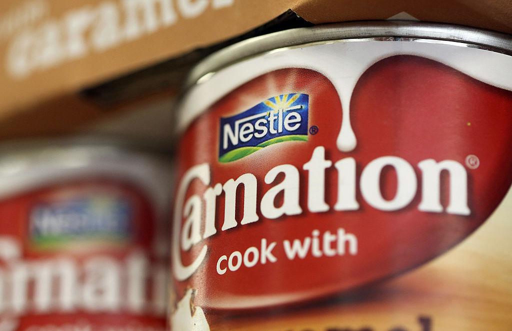 Bespoke font for Carnation brand