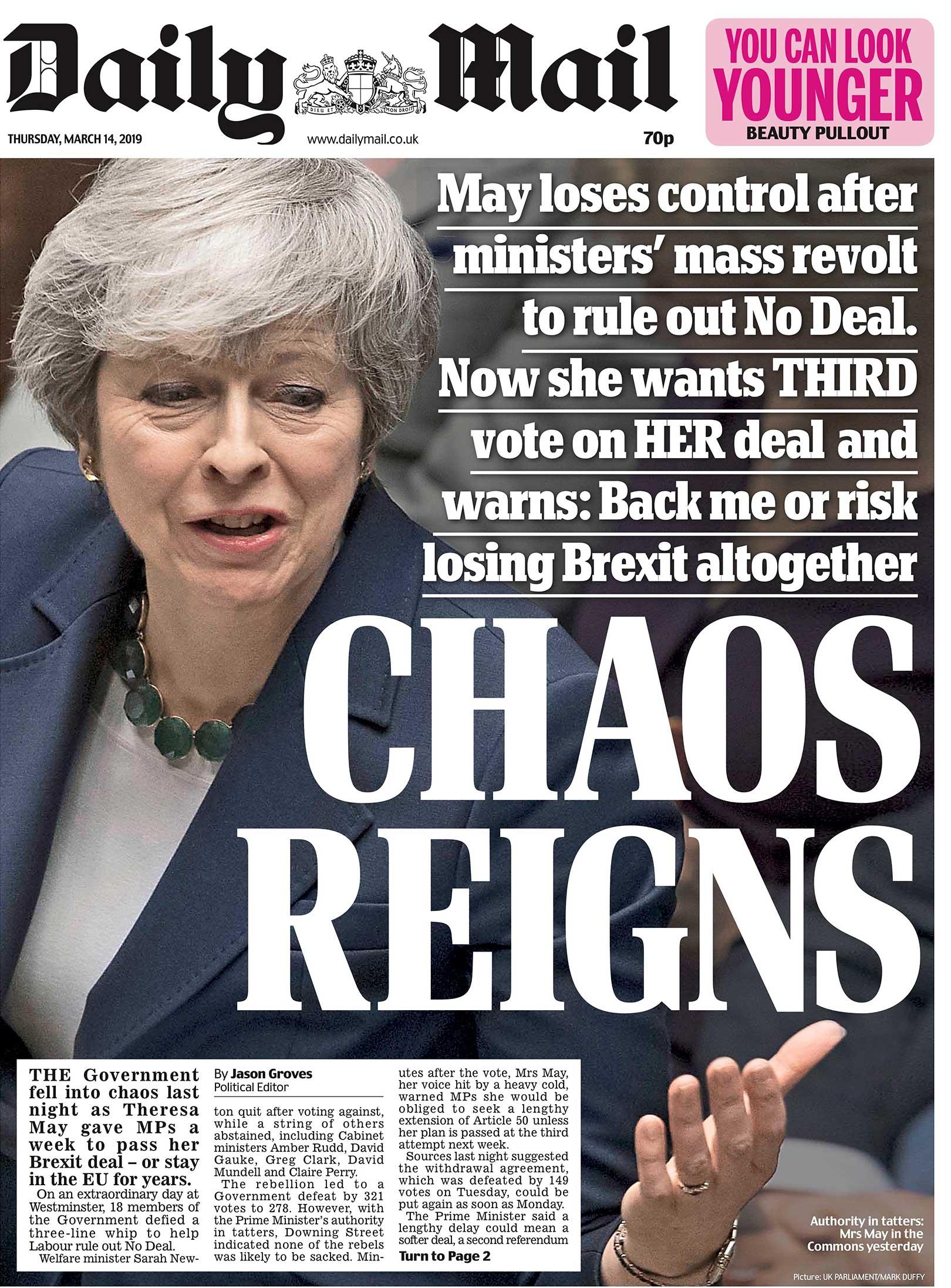 Daily Mail custom font design