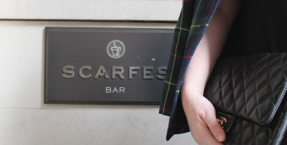 scarfes bar logo design
